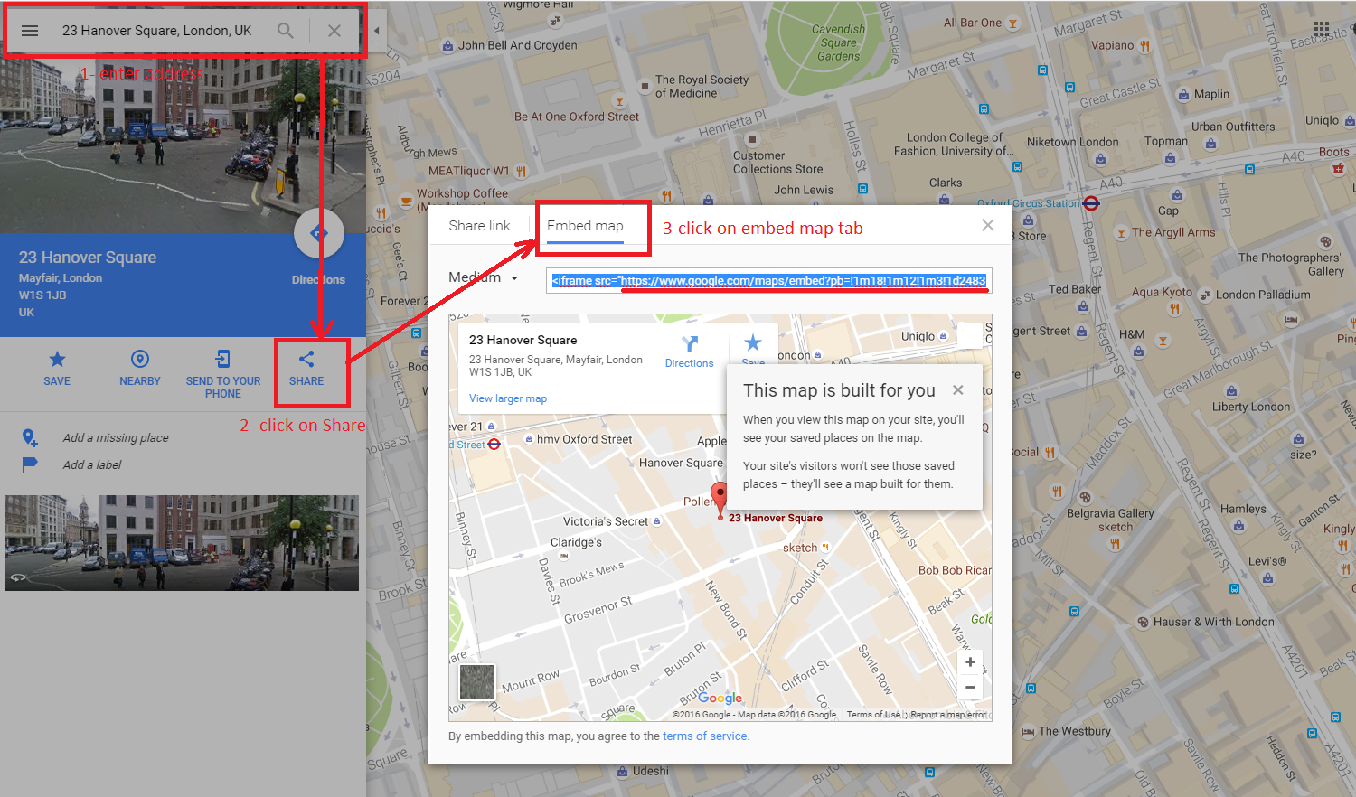 Google themes london - Here Is A Screenshot With All Steps Assigned